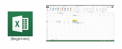 Microsoft Excel Beginners Cover Image