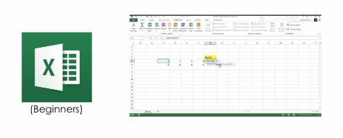 MS Excel Beginners to Intermediate Image